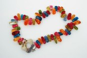 Colorful Candy Quartz Necklace